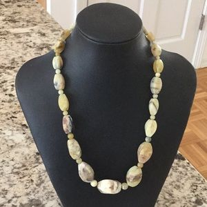 Jewelry - Sterling silver & stone necklace
